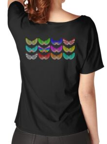 Colorful Foot Wings Women's Relaxed Fit T-Shirt