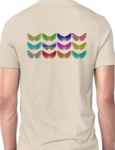 Colorful Foot Wings Unisex T-Shirt