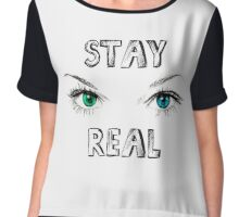 Stay Real Chiffon Top