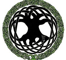CELTIC TREE OF LIFE by BerylDov