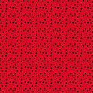 Scarlet with Black Dots by Greenbaby