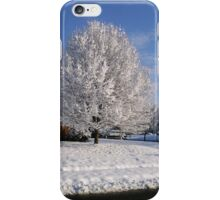 Snowy Tree iPhone Case/Skin