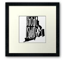 Rhode Island Framed Print