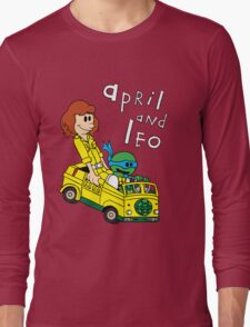 April and Leo Long Sleeve T-Shirt