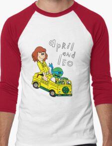 April and Leo Men's Baseball ¾ T-Shirt