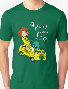 April and Leo Unisex T-Shirt