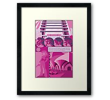 Saffron city Framed Print