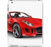 2014 Jaguar F-Type S sports car art photo print iPad Case/Skin