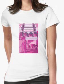 Saffron city Womens Fitted T-Shirt