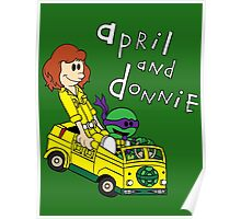 April and Donnie Poster