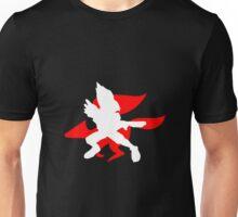 Super Smash Bros. Melee Falco Silhouette Unisex T-Shirt