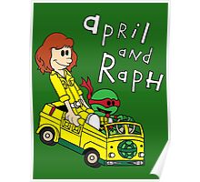 April and Raph Poster