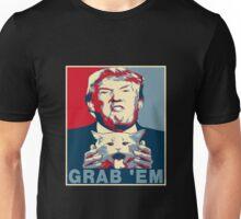 Trump Grab Em Poster Unisex T-Shirt