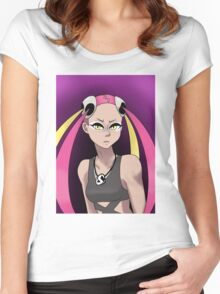 Plumeria Women's Fitted Scoop T-Shirt