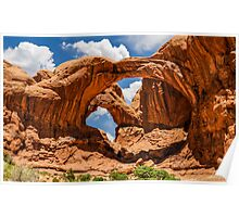 Double Arch Poster