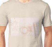 grunge stained paper texture Unisex T-Shirt