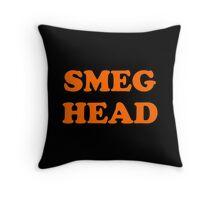 Red Dwarf Smeg Head Throw Pillow