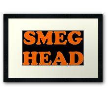 Red Dwarf Smeg Head Framed Print