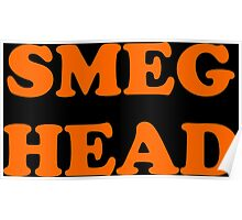 Red Dwarf Smeg Head Poster