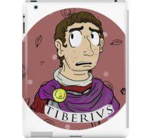 Emperor Tiberius - Red iPad Case/Skin
