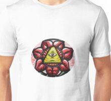 Illuminati Flower - Graffiti Art Unisex T-Shirt