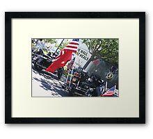 The Wall That Heals; Vietnam Veterans Memorial; Irvine, CA USA  Framed Print