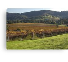 Winery with a View - Country Victoria Canvas Print