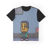 (5) Abed Nadir -Poster Series Graphic T-Shirt