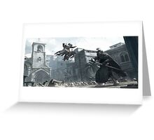 High Profile Assassination Greeting Card