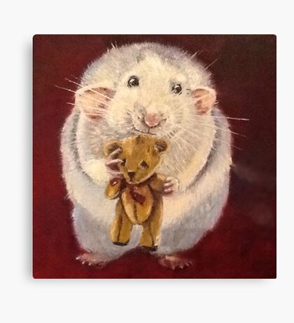 Ratty Ted Canvas Print