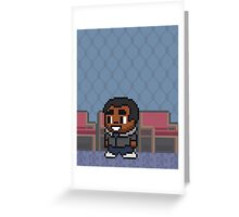 (6) Troy Barnes - Poster Series Greeting Card
