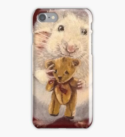 Ratty Ted iPhone Case/Skin