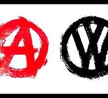 VW Anarchy by Sharon Poulton