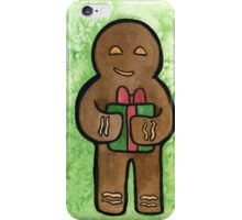 Gingerbread Gift iPhone Case/Skin