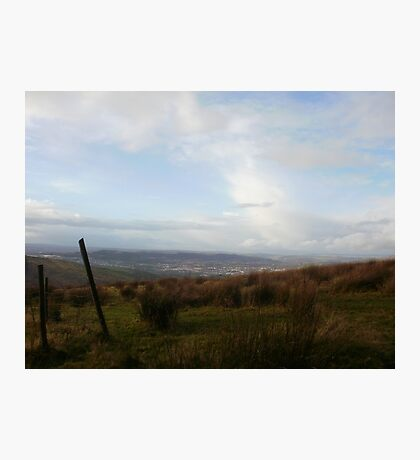 Welsh Mountains Photographic Print
