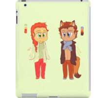Chibi Sherlolly - Colour Palette Challenge iPad Case/Skin