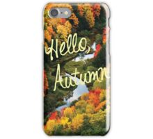 Hello, Autumn iPhone Case/Skin