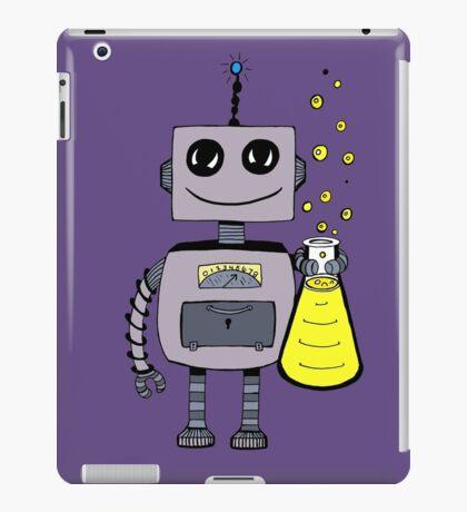 Cute Happy Robot  iPad Case/Skin