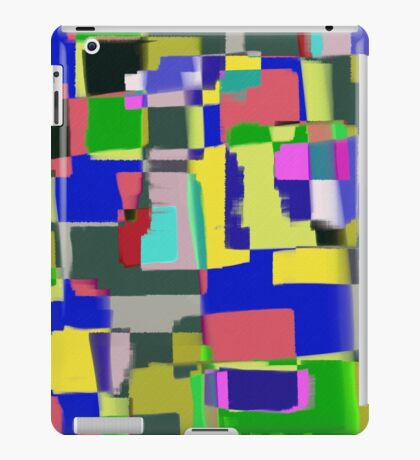 Raw Paint 3 - Abstract Colour iPad Case/Skin