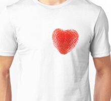 Strawberry Heart Unisex T-Shirt