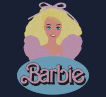Barbie- Old Logo Kids Clothes