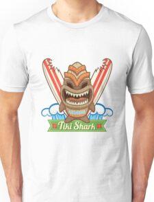 Tiki Shark Unisex T-Shirt