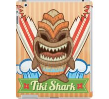 Tiki Shark iPad Case/Skin