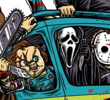 The Massacre Machine Horror Sticker