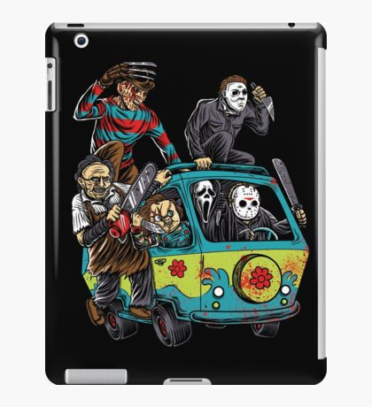 The Massacre Machine Horror iPad Case/Skin