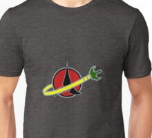 Building Bricks Klingon Bird Of Prey Unisex T-Shirt
