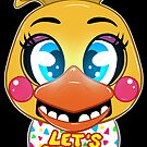 FNAF Toy Chica by Sciggles
