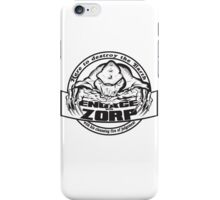 Engage with Zorp (Light) iPhone Case/Skin