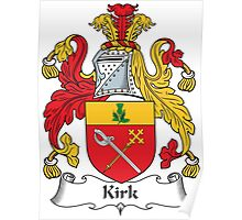 Kirk Coat of Arms (Scottish) Poster