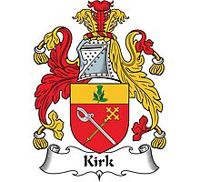 Kirk Coat of Arms (Scottish) Photographic Print